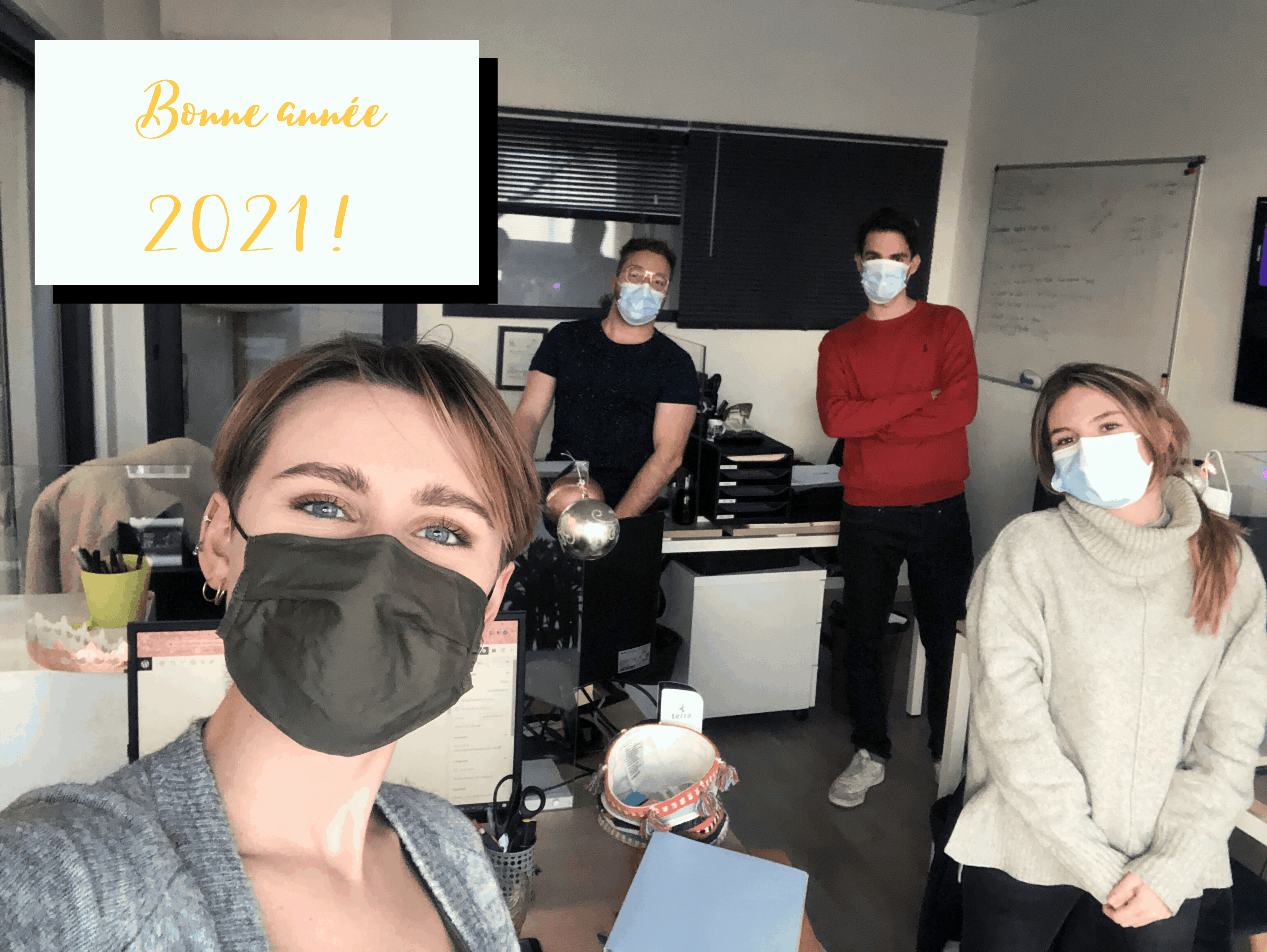 L'équipe collectivités souhaite une bonne année 2021!