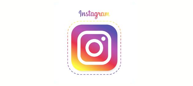 Illustration du logo Instagram pour communiquer en temps de crise sanitaire.